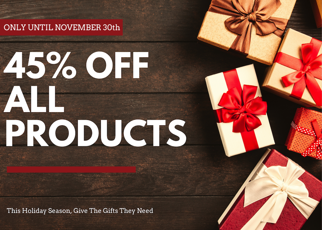45% Off All Products